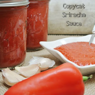 Copycat Sriracha Sauce.