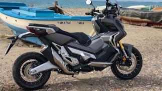 Una moto pensada para poder disfrutarla sobre cualquier terreno