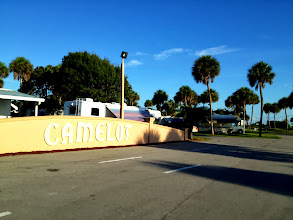Photo: Camelot is a wonderful RV Park with great full hook-up sites, excellent wi-fi, a nice rec hall and pool....and a good staff that wants to make sure you're happy.