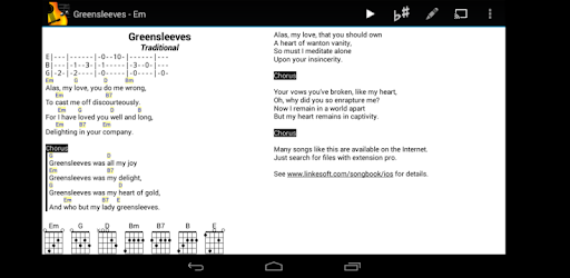 SongBook - Apps on Google Play