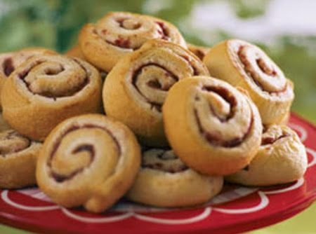 cranberry cream cheese pinwheels Recipe