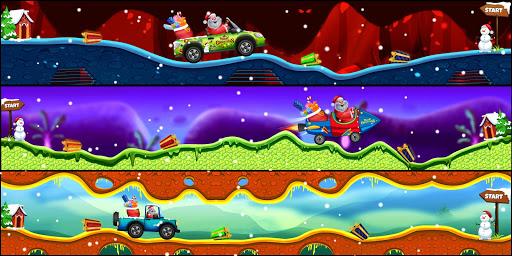 Télécharger Gratuit Santa The Racing Game apk mod screenshots 3