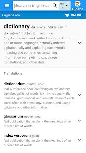 Latin-English Dictionary - náhled
