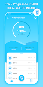Water Tracker: Water Drinking Reminder App 1