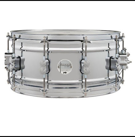 "14"" x6,5"" PDP by DW Concept Chrome Over Steel Snare - PDSN6514SSCSC"