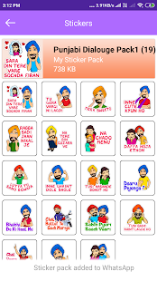 Download Punjabi Stickers For Whatsapp For PC Windows and Mac apk screenshot 2
