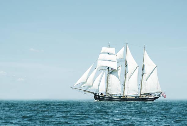 Three mast schooner
