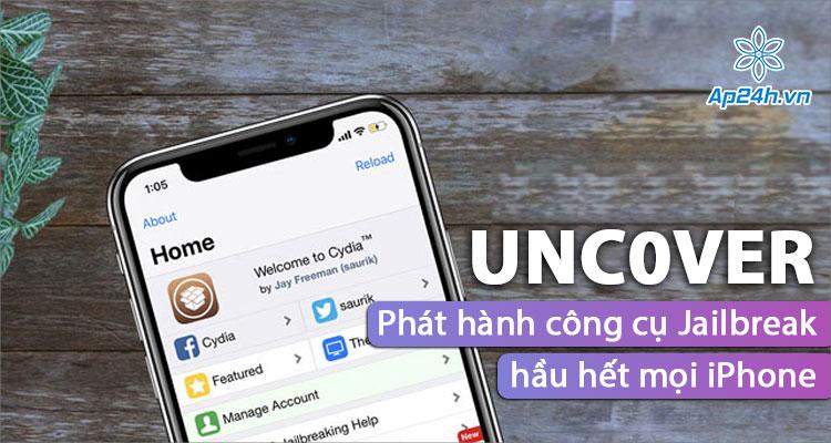 Công cụ bẻ khóa iPhone được phát hành bởi nhóm Unc0ver