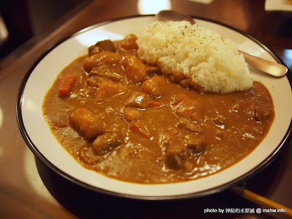 椰奶日式咖哩與瓜仔肉拌麵 @ 台中西區-咖哩老師