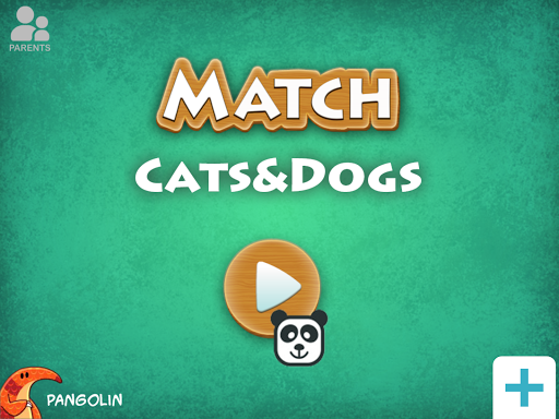 Baby Match Game - Dogs Cats