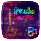 Paris Love GO Launcher Theme
