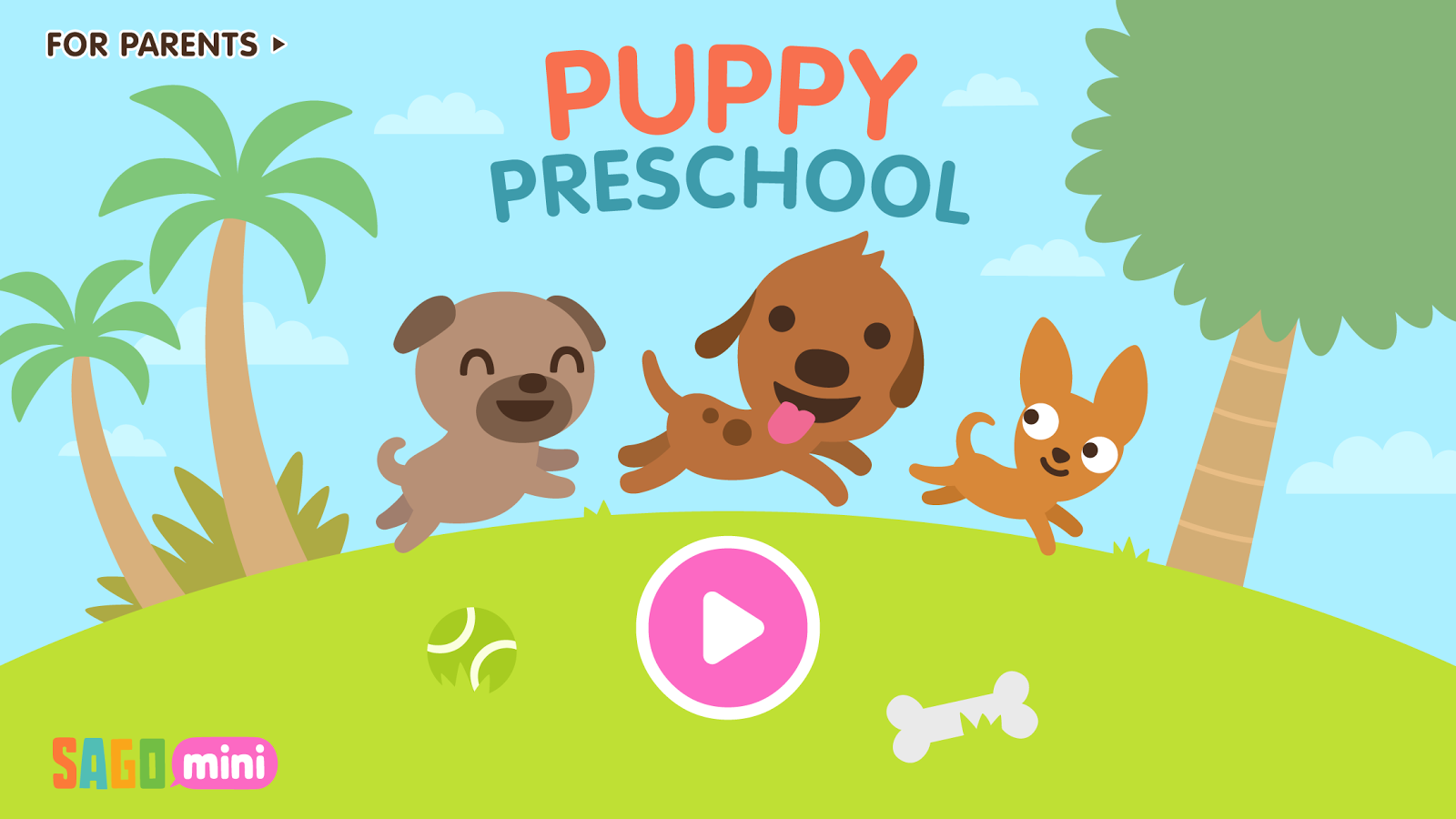 Sago Mini Puppy Preschool- screenshot