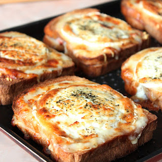 Baked Ham And Cheese Sandwiches.