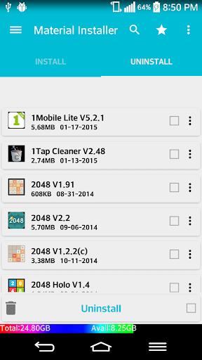 Lollipop App Installer 0.7 screenshots 2