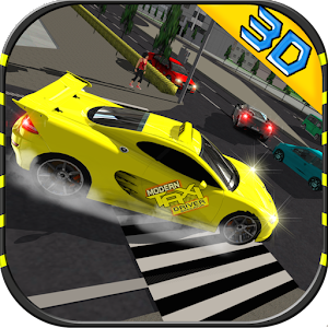 Modern Taxi Driving 2016 for PC and MAC