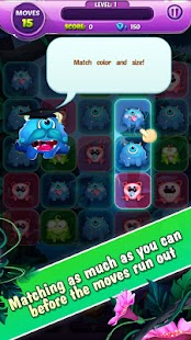 Monster Nibblers-Mellow puzzle - náhled