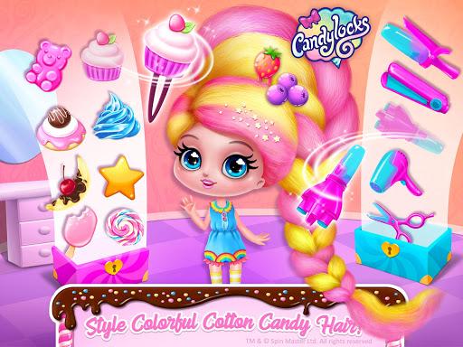 Candylocks Hair Salon - Style Cotton Candy Hair  Wallpaper 22