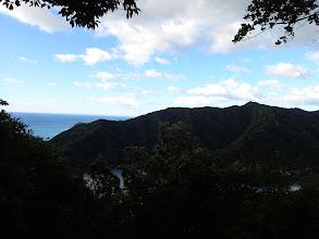 展望所からの眺め(右に座佐の高)