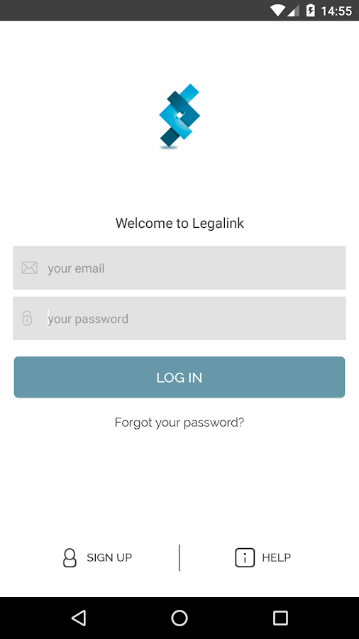Legalink- screenshot