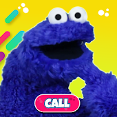 Cookie Eating monster puppet Video Call