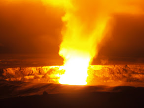Photo: Burping volcano on Big Island