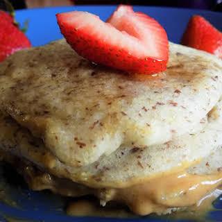 Gluten-free, Vegan Pancakes for One.