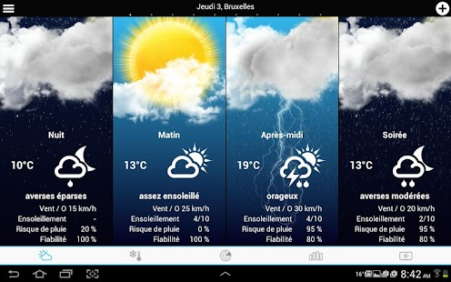 Weather for Belgium + World- screenshot thumbnail