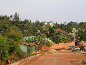 Photo: A view of Kigali streets...