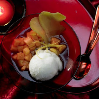 Ginger-Citrus Sorbet.