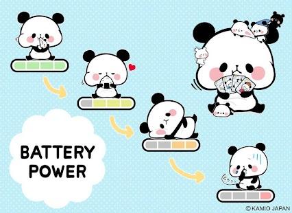 Mochimochipanda Battery Widget - náhled