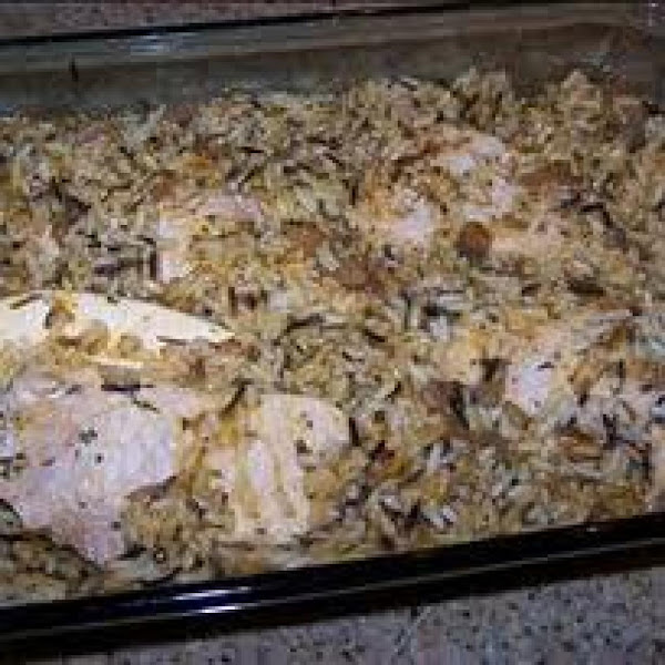 Pork Chops With Wild Rice Recipe