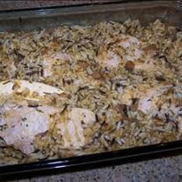 Pork Chops With Wild Rice Recipe