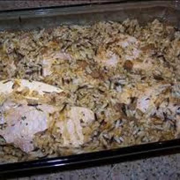 Pork Chops With Wild Rice