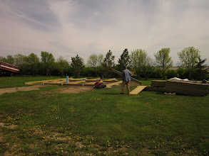 Photo: More building for future yurt.