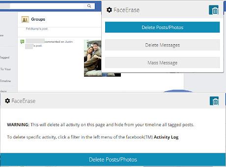 Delete Social Media Posts, Photos, etc.