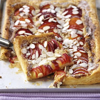 Sweet Stone Fruit Tart.
