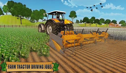 Farming Tractor Driver Simulator : Tractor Games  screenshots 9
