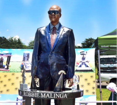 Robbie Malinga's new tombstone is currently being redesigned.