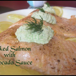 Salmon Avocado Sauce Recipes
