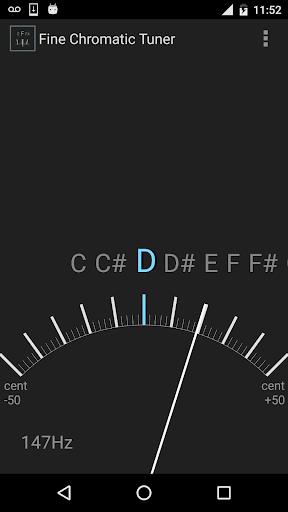 Fine Chromatic Tuner screenshots 3