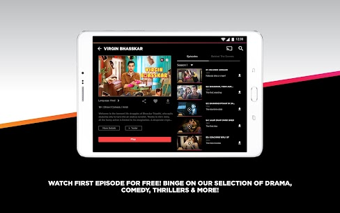 ALTBalaji – Watch Web Series, Originals & Movies App Download For Android and iPhone 8