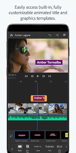 Adobe Premiere Rush u2014 Video Editor 1.5.19.3417 screenshots 4