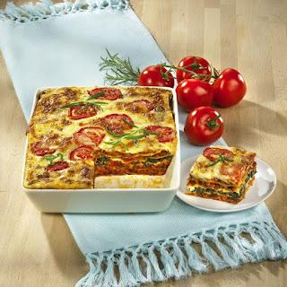 Vegetarian Lasagna Bolognese.