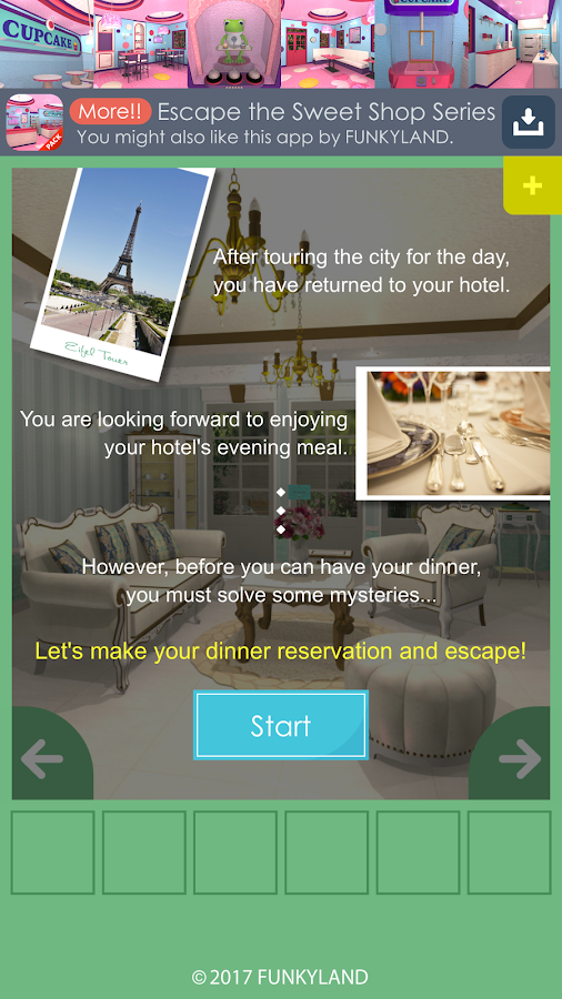 Escape a Parisian Hotel- screenshot