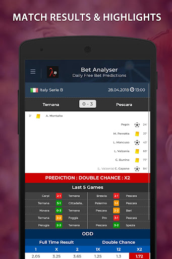 Bet Analyser - Football Predictions, Betting Tips 1.6 screenshots 2