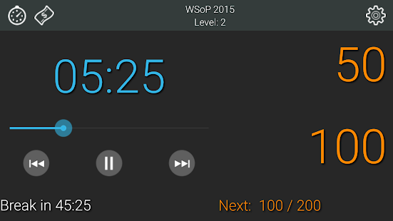 Talking Poker Timer - Clock- screenshot thumbnail