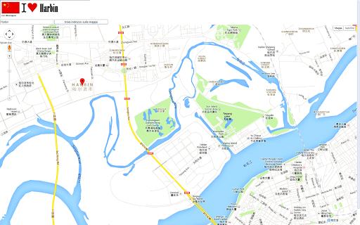 Harbin map