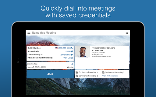 Free Conference Call 2.2.13.0 screenshots 14