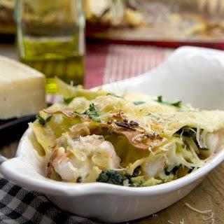 Shrimp Spinach Lasagna Recipes.