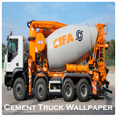 Cement Truck Wallpaper